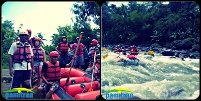 Paket Tour Rafting Sungai Elo
