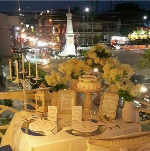 tempat makan di jogja romantis