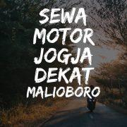 Rental Motor Jogja Malioboro