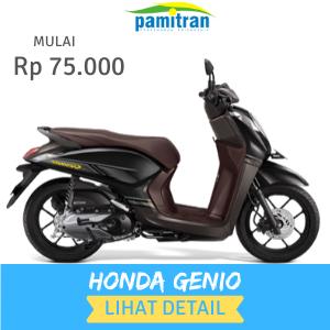 Sewa Rental Motor Jogja Honda Genio