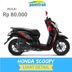 Sewa Rental Motor Jogja Honda Scoopy