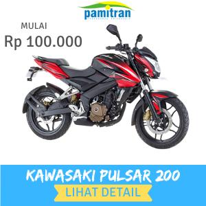 Sewa Rental Motor Jogja Kawasaki Pulsar