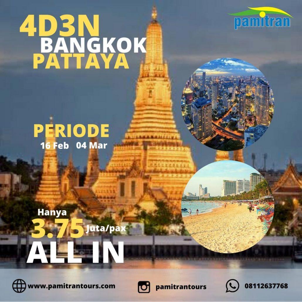 paket wisata bangkok pattaya